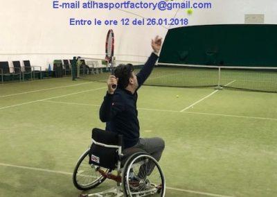 Locandina wheel chair torneo